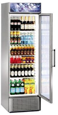 Getränkekühlschrank Flaschenkühlung für Gastro mit Glastüren   {Getränkekühlschränke 13}