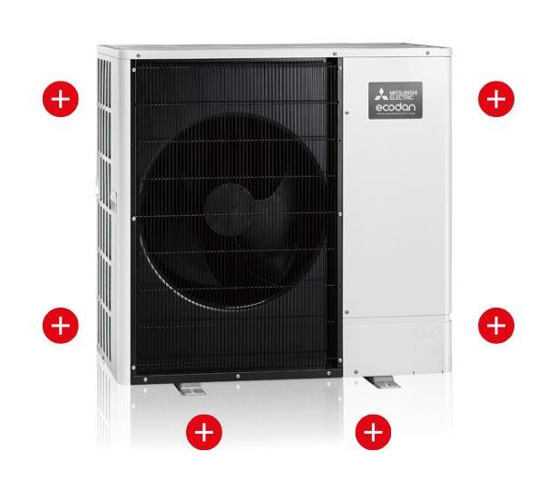 Mit einer Luft/Wasser Wärmepumpe von Zaugg heizen und sparen